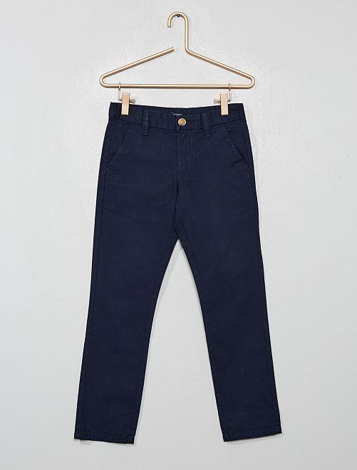Pantaloni chino regular                                                                 blu