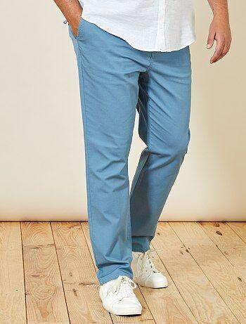 Pantaloni chino regular Oxford - Kiabi