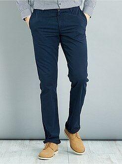 Pantaloni - Pantaloni chino regular puro cotone L38 + 1 m 90