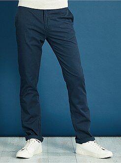 Pantaloni - Pantaloni chino regular twill stretch