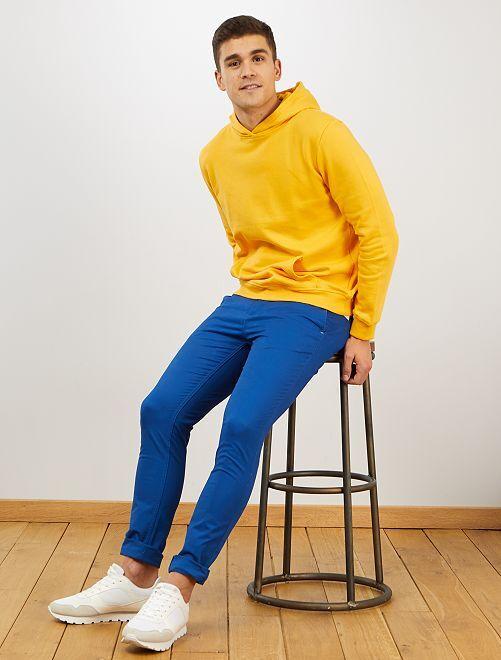 Pantaloni chino skinny                                                                 blu
