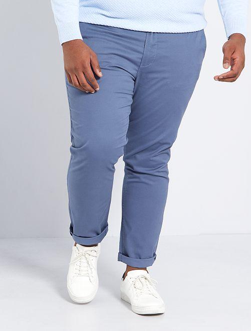 Pantaloni chino slim L30                                                                                                     BLU