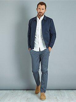 Pantaloni slim - Pantaloni chino slim twill stretch