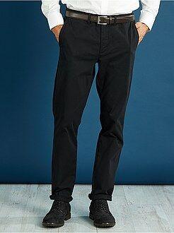 Uomo dalla S alla XXL Pantaloni chino slim twill stretch