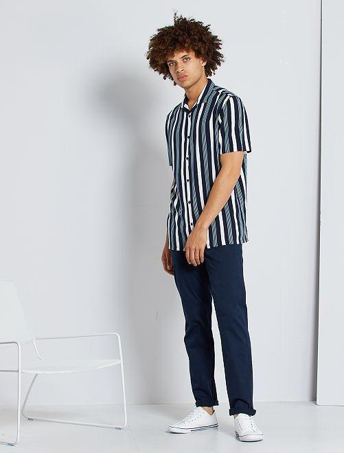 Pantaloni chino stretch                                                                                                                 blu