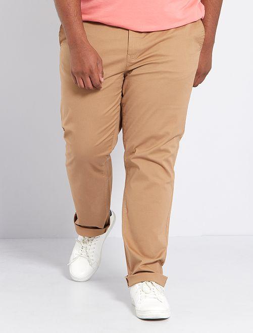 Pantaloni chino taglio regular L30                                                                             BEIGE