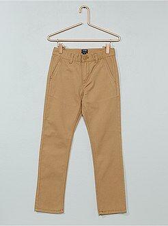 Pantaloni - Pantaloni chino twill - Kiabi