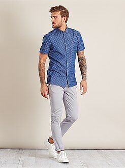 Pantaloni - Pantaloni chino twill cotone stretch - Kiabi