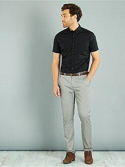 Pantaloni chino twill cotone stretch