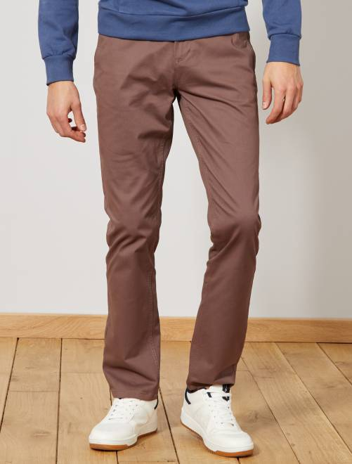 c3a2a208514666 Pantaloni chino twill cotone stretch Uomo - talpa - Kiabi - 9,00€
