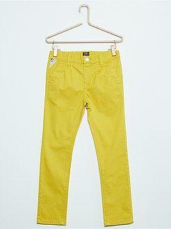 Pantaloni chino twill stretch