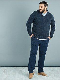 Pantaloni - Pantaloni chino twill taglio dritto