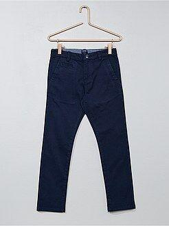 Pantaloni chino twill taglio slim - Kiabi