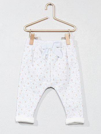 Pantaloni comfort stampa 'luna' - Kiabi