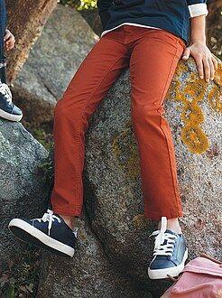 Pantaloni cotone taglio dritto