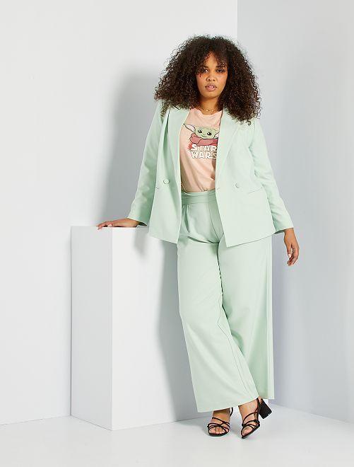 Pantaloni culotte                                                     VERDE
