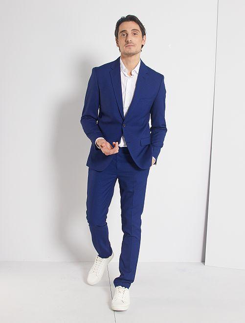 Pantaloni da completo skinny                                         BLU