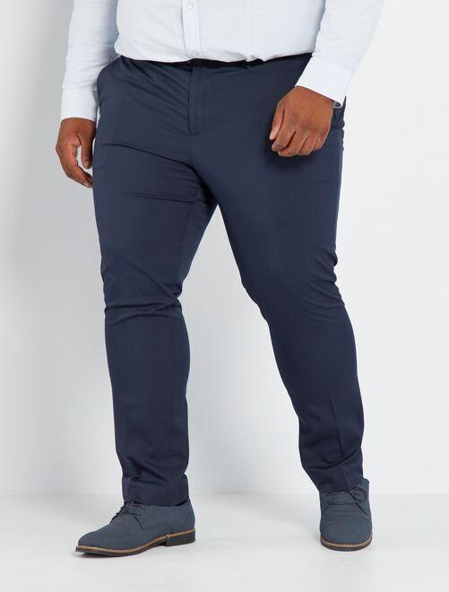 Pantaloni da completo slim                                         blu