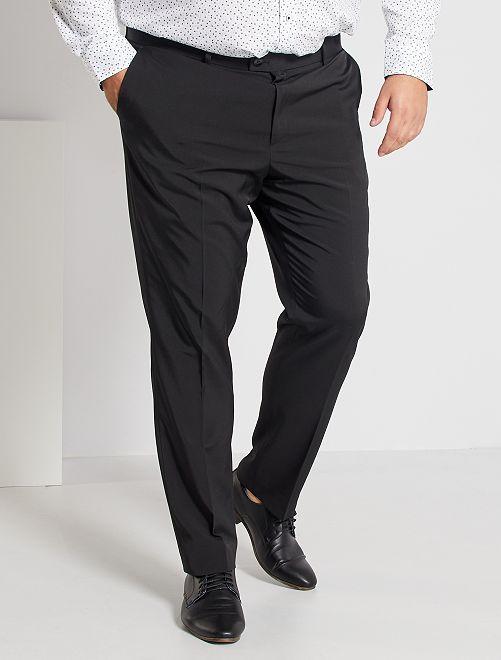 Pantaloni da completo slim                                         nero