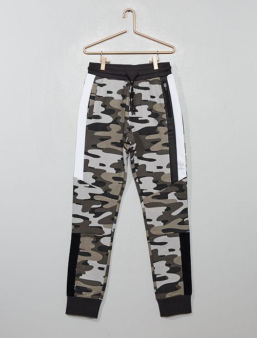 Pantaloni da tuta mimetici                                                                 GRIGIO