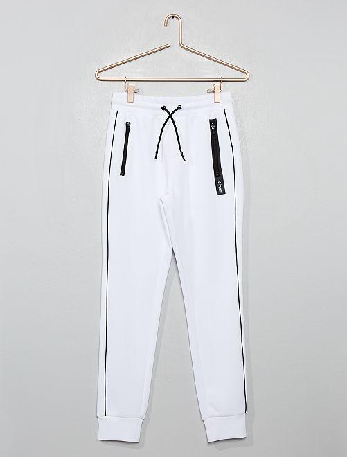 Pantaloni da tuta neoprene                             BIANCO