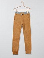 Pantaloni da tuta sarouel bicolore