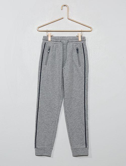Pantaloni da tuta stampati                                                     GRIGIO