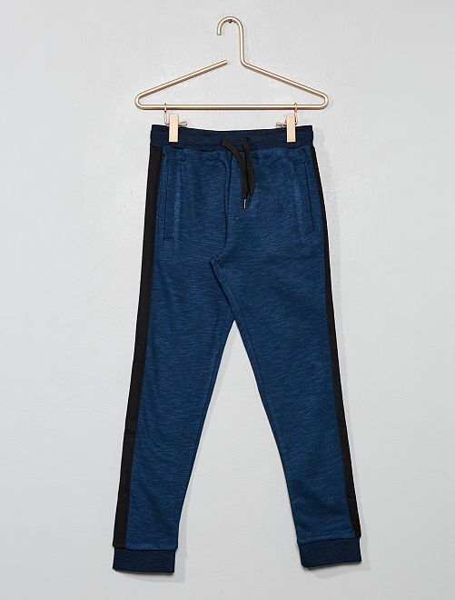 Pantaloni da tuta strisce laterali                                 BLU Infanzia bambino