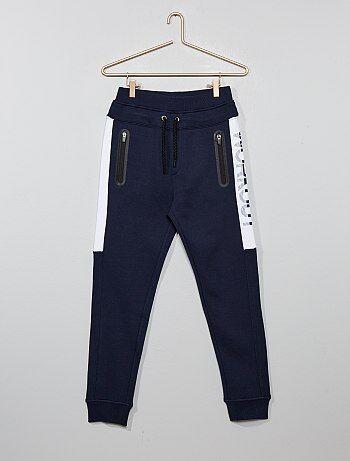 Pantaloni da tuta tasche con zip - Kiabi
