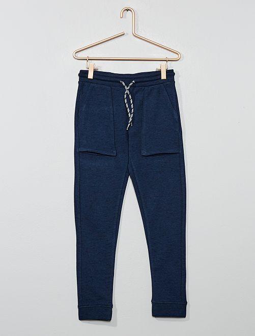 Pantaloni da tuta tasche larghe                                                     BLU
