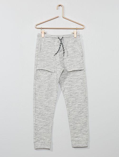 Pantaloni da tuta tasche larghe                                                     GRIGIO