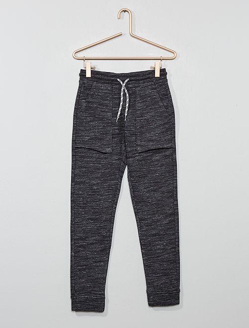 Pantaloni da tuta tasche larghe                                                                 grigio melange scuro Infanzia bambino