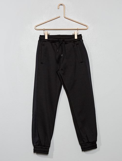Pantaloni da tuta tessuto felpato                                         nero