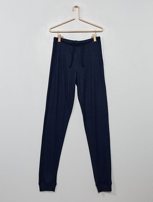 Pantaloni del pigiama fluidi                             blu