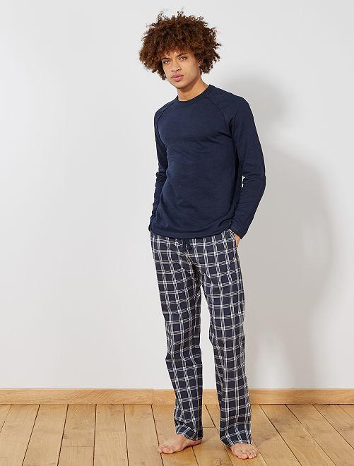 Pantaloni del pigiama stampati                                 BLU