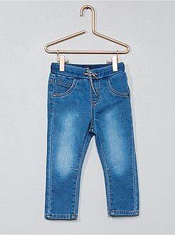 Pantaloni denim maglia comfort - Kiabi