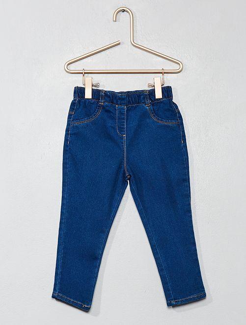 Pantaloni denim stile treggings                                         BLU Neonata