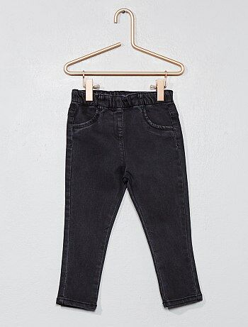 Pantaloni denim stile treggings - Kiabi