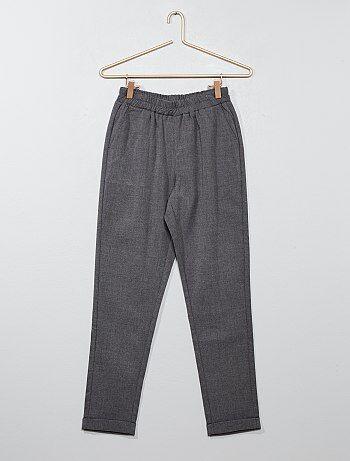 Pantaloni dritti stile tailleur - Kiabi