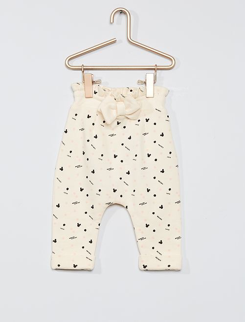 Pantaloni eco-sostenibili 'Disney Baby'                             BIANCO