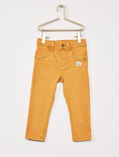 Pantaloni eco-sostenibili                                                     GIALLO
