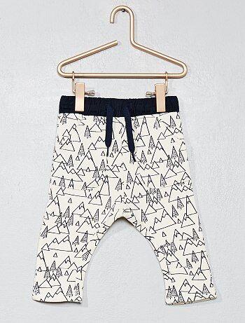 Pantaloni felpati 'foresta' - Kiabi