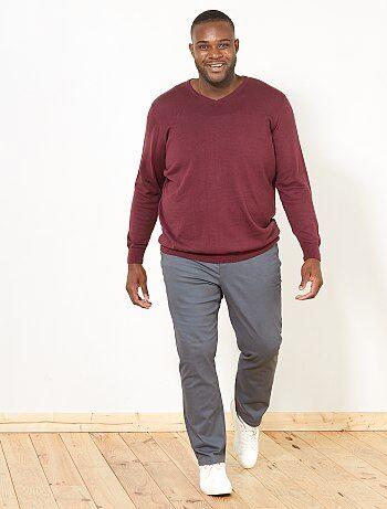 Pantaloni fitted 5 tasche - Kiabi