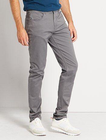 Pantaloni fitted 5 tasche L36 + 1 m 90 - Kiabi