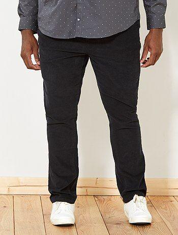 Pantaloni fitted velluto - Kiabi
