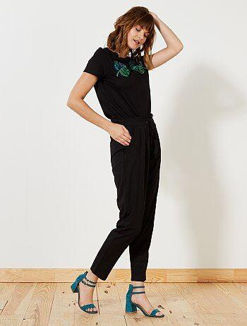 Donna dalla 38 alla 52 - Pantaloni fluidi 'JDY' - Kiabi