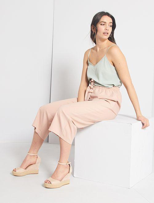 Pantaloni fluidi                                                                 ROSA