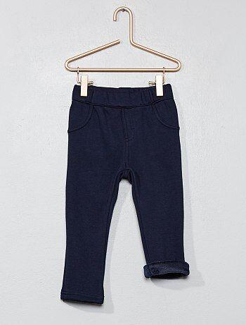 Pantaloni fodera pile - Kiabi