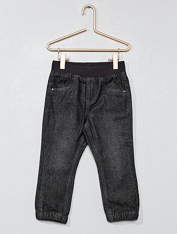 Pantaloni fodera puro cotone - Kiabi