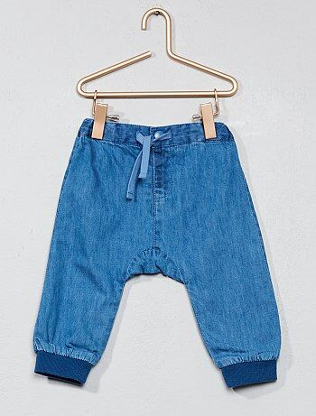 Pantaloni foderati denim - Kiabi